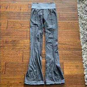 Flared leg lululemon pants